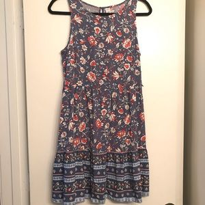 Old Navy NWT Blue & Pink Floral Dress size Small